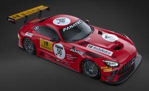 #50 HubAuto Racing, Mercedes-AMG GT3: Maxi Buhk, Yelmer Buurman e Maxi Götz