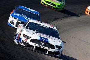 Chase Briscoe, Stewart-Haas Racing, Ford Mustang Ford Performance Racing School, Ricky Stenhouse Jr., JTG Daugherty Racing, Chevrolet Camaro Kroger/Bush's Beans