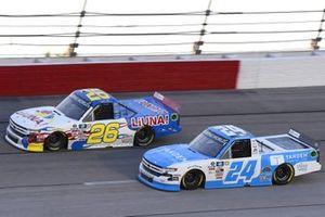 #26: Tyler Ankrum, GMS Racing, Chevrolet Silverado LiUNA!, #24: Ryan Reed, GMS Racing, Chevrolet Silverado Tandem Diabetes Care