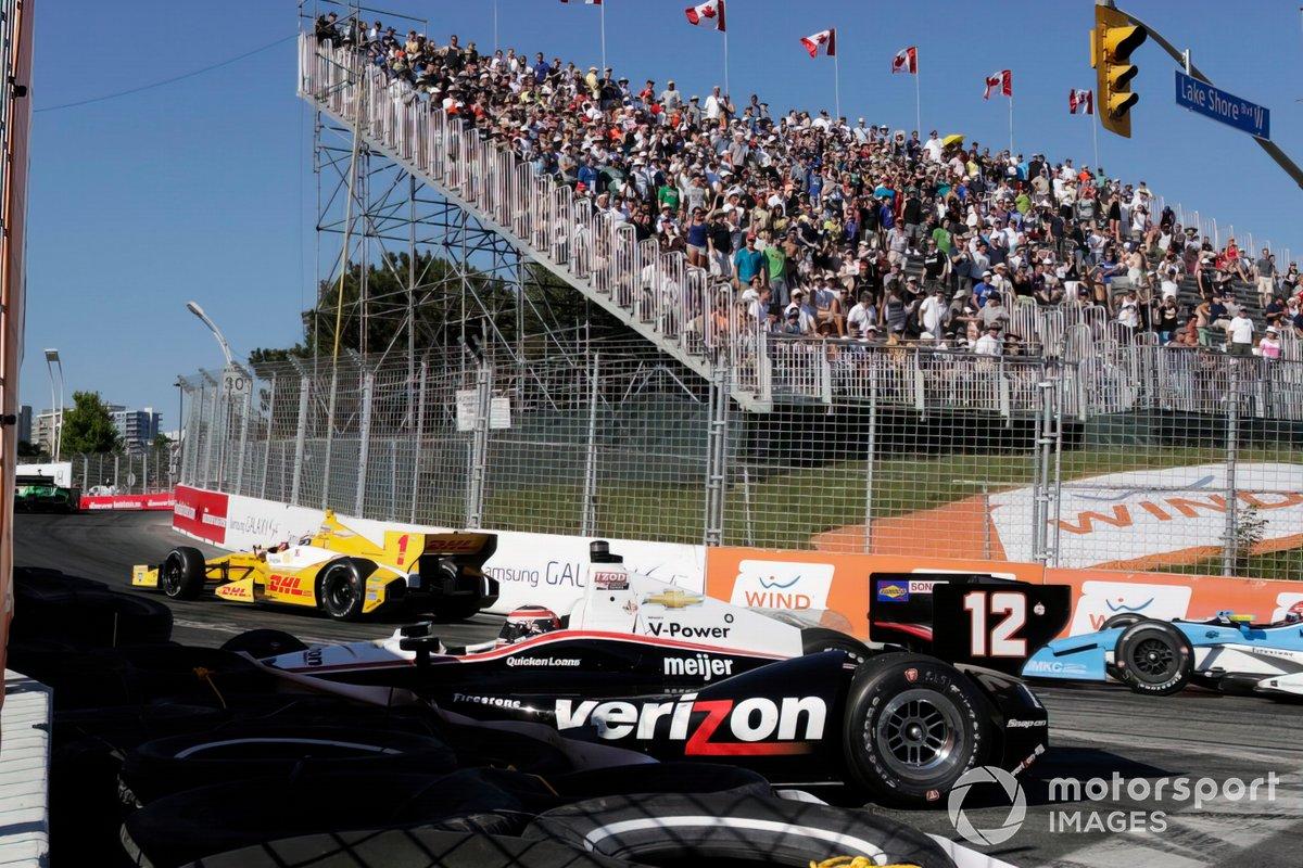 Zwei Rennen - zwei Crashs in letzten zwei Runden