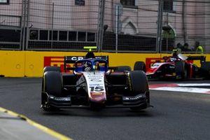 Guilherme Samaia, Charouz Racing System, leads Marino Sato, Trident