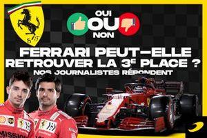 Ferrari peut-elle retrouver la 3e place ?