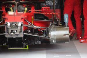 Ferrari SF21 front brake detail