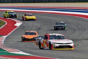 Justin Allgaier, JR Motorsports, Chevrolet Camaro BRANDT, Daniel Hemric, Joe Gibbs Racing, Toyota Supra Poppy Bank