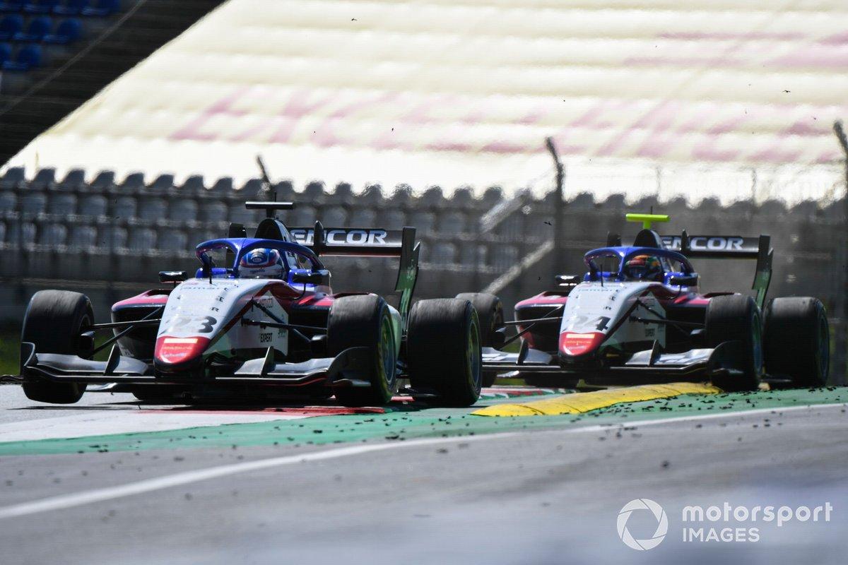 Niko Kari, Charouz Racing System e Igor Fraga, Charouz Racing System