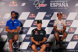 Alex Rins, Team Suzuki MotoGP, Maverick Viñales, Yamaha Factory Racing, Marc Márquez, Repsol Honda Team,