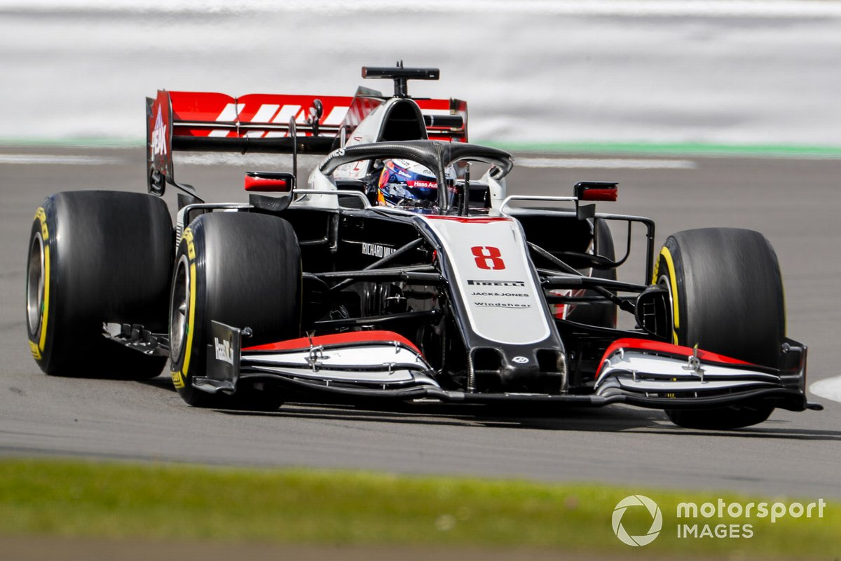 P17 Romain Grosjean, Haas VF-20