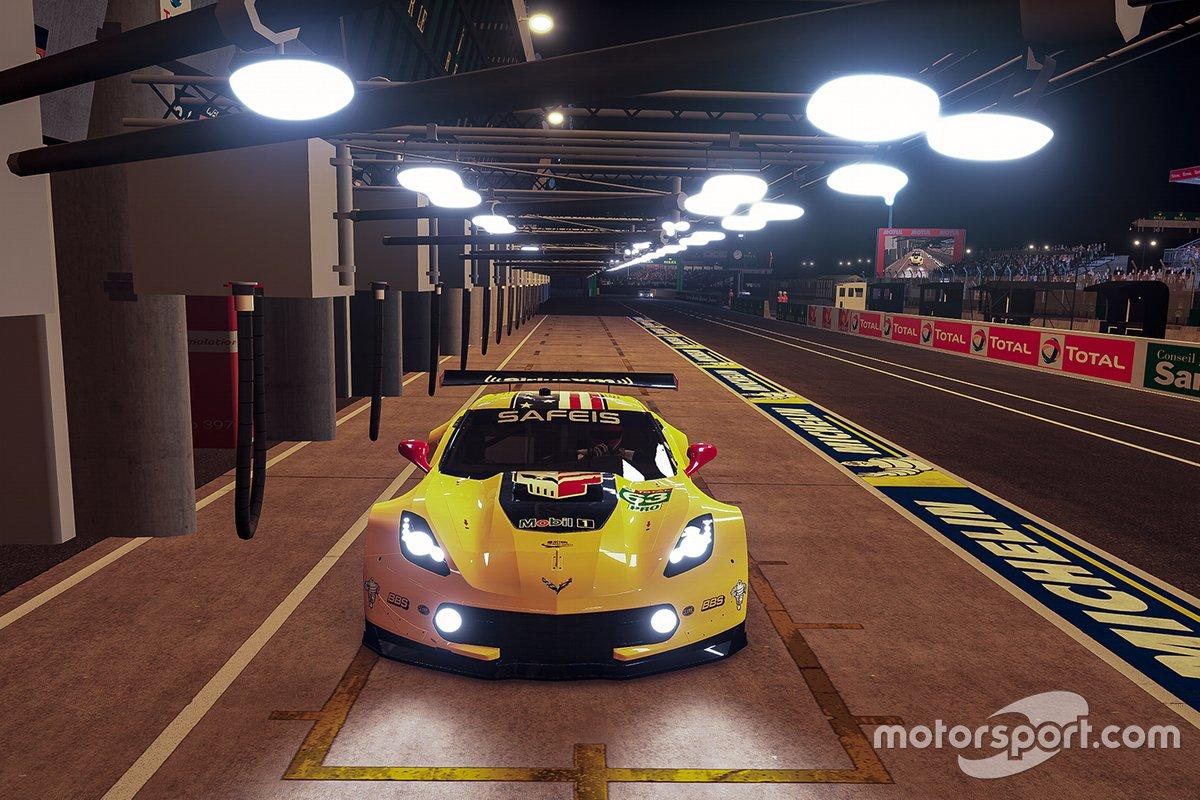 #63 Corvette Racing Corvette C7.R: Jordan Taylor, Nicky Catsburg, Alex Voss, Laurin Heinrich