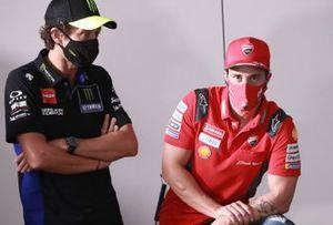 Valentino Rossi, Yamaha Factory Racing, Andrea Dovizioso, Ducati Team