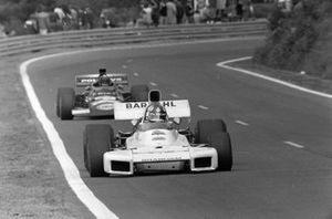 Wilson Fittipaldi, Brabham BT34, Carlos Pace, Williams, March 711