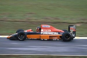 Olivier Grouillard, Osella FA1M89 Ford, al GP del Brasile del 1990