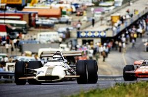 Jackie Oliver, BRM P153, Mario Andretti, March 701 Ford