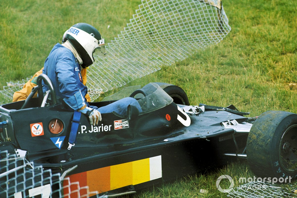 Jean-Pierre Jarier, Shadow DN5, crash