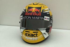 Helmet of Max Verstappen, Red Bull Racing, 2018 Austrian Grand Prix