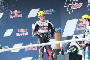 1. Tatsuki Suzuki, SIC58 Squadra Corse, 3. Celestino Vietti, Sky Racing Team VR46