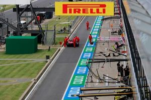 La Ferrari SF1000 de Sebastian Vettel