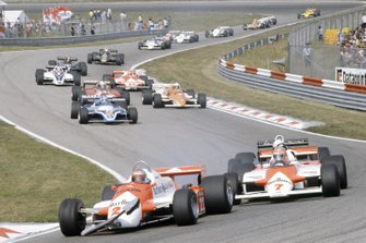 Mario Andretti, Alfa Romeo 179C, John Watson, McLaren MP4/1, Elio de Angelis, Lotus 87
