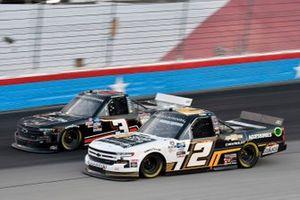 Sheldon Creed, GMS Racing, Chevrolet Silverado Chevy Accessories and Jordan Anderson, Jordan Anderson Racing, Chevrolet Silverado Bommarito.com