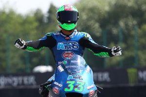Race winner Enea Bastianini, Italtrans Racing Team