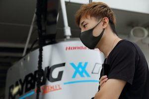 牧野任祐 Tadasuke Makino(#100 RAYBRIG NSX-GT)