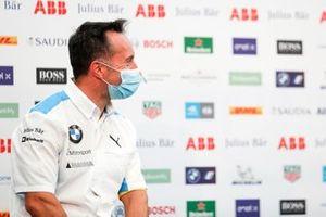 Roger Griffiths, Team Principal, BMW i Andretti Motorsport en conférence de presse