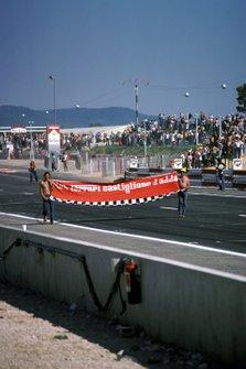 Los seguidores de Ferrari tuvieron la oportunidad de celebrar otra victoria