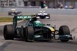 Heikki Kovalainen, Lotus T127 Cosworth