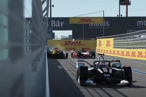 Crash de Jean-Eric Vergne, DS Techeetah