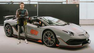 El Lamborghini de Jorge Lorenzo