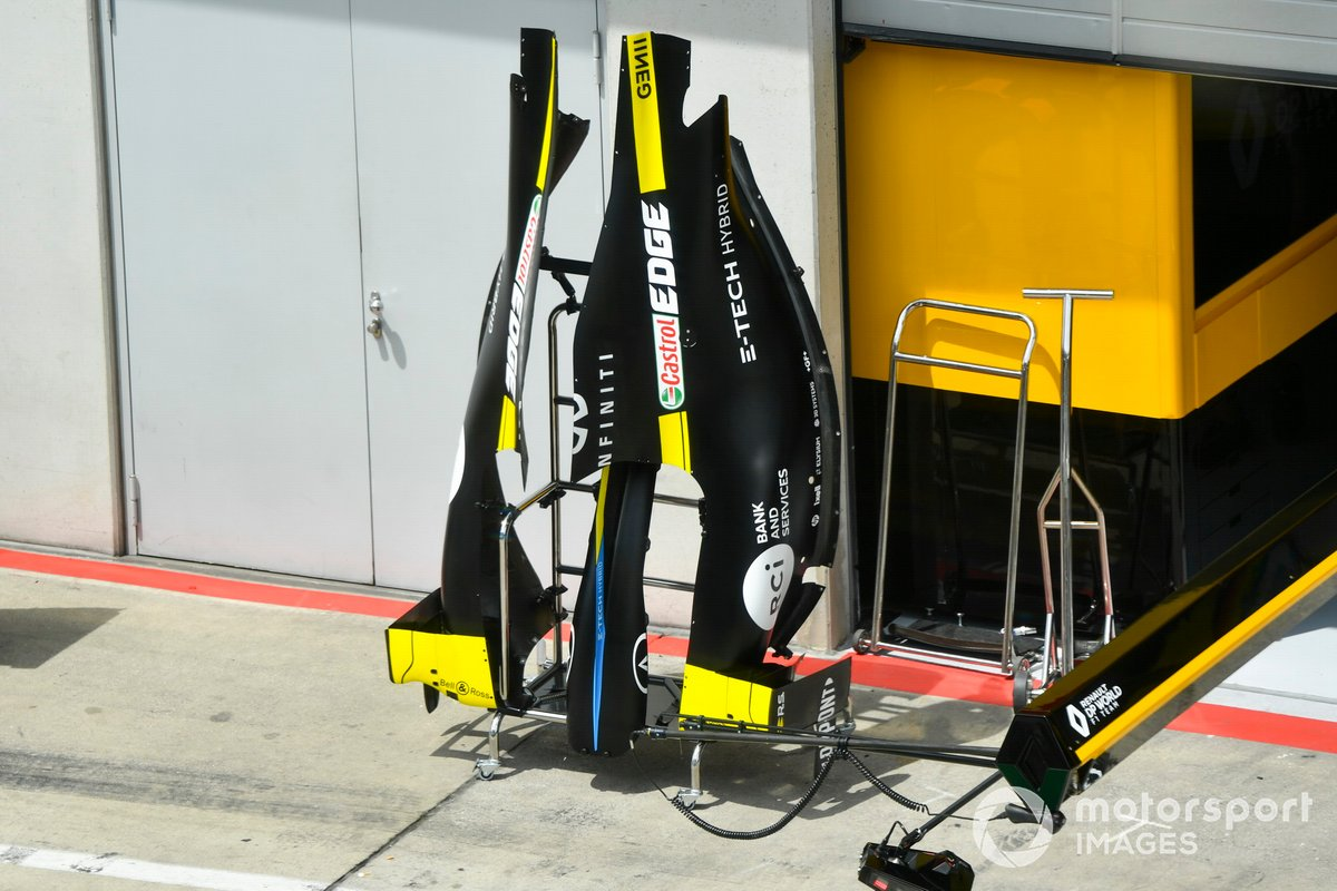 Engine cover of Renault F1 Team R.S.20