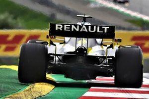 Detalle del difusor del Renault F1 R.S.20