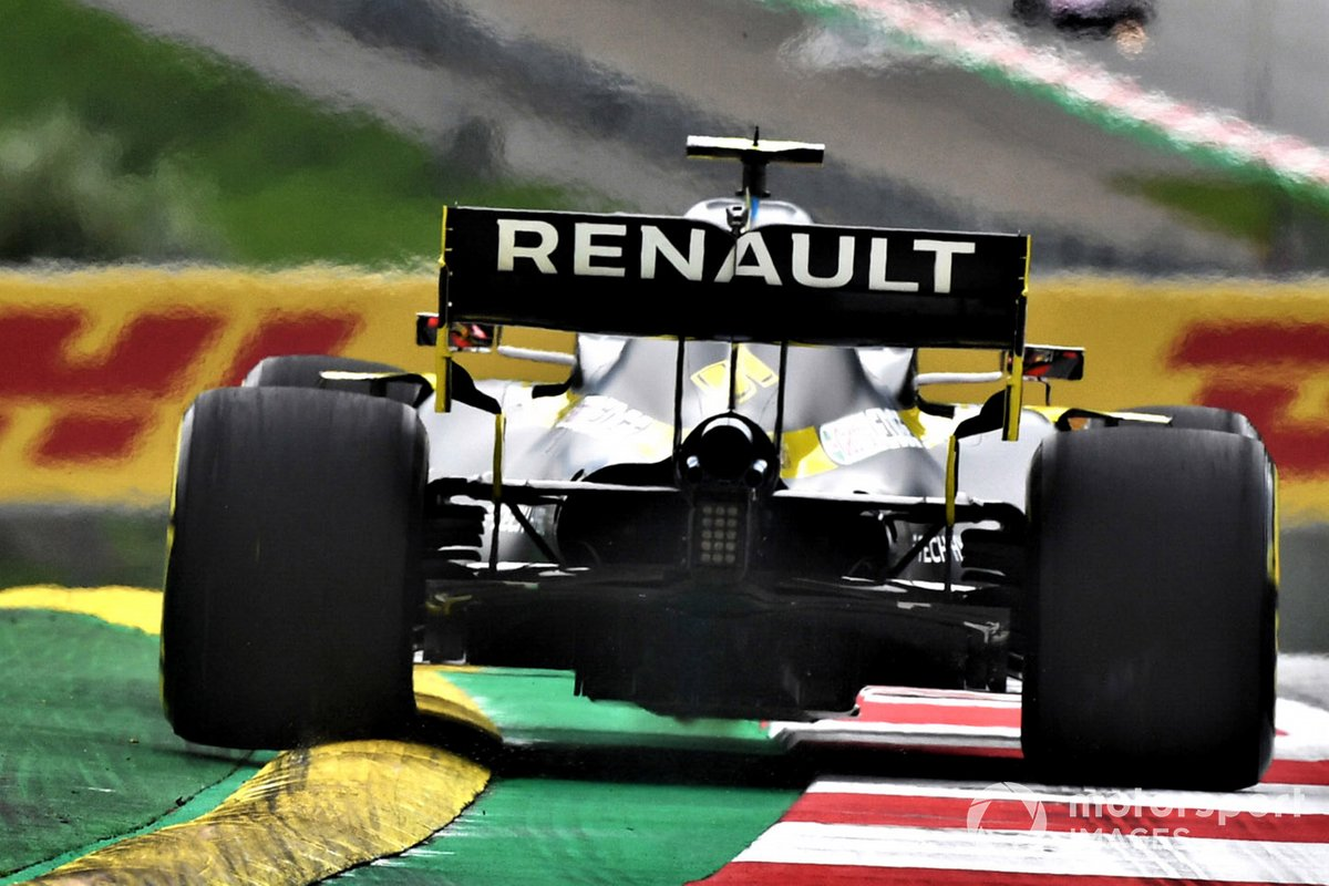 Renault F1 R.S.20 diffuser detail