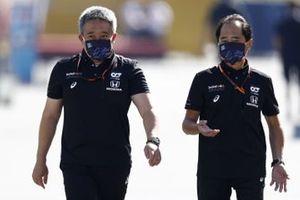 Босс Honda Motorsport Масаси Ямамото и технический директор программы Honda в Формуле 1 Тойохару Танабе