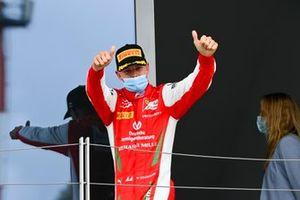 Mick Schumacher, Prema Racing festeggia sul podio