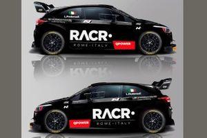 Luca Pedersoli, Anna Tomasi, Hyundai i20 WRC Plus
