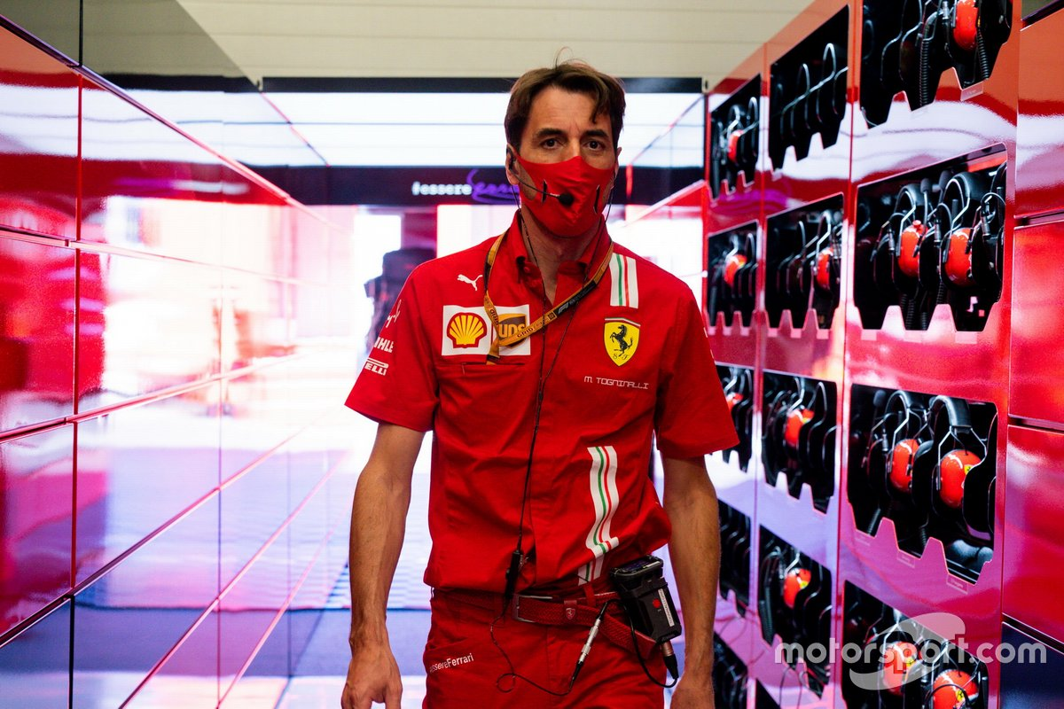 Matteo Togninalli, Capo degli ingegneri di gara, Ferrari