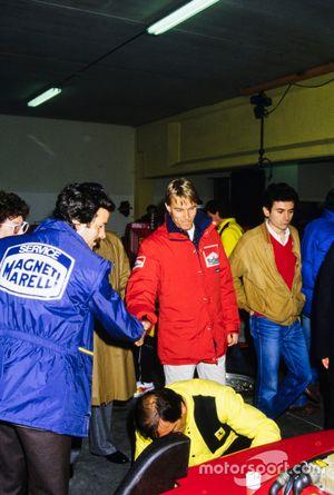 Stefan Johansson, Ferrari