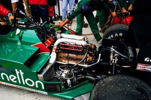 Alfa Romeo turbo engine in the 185T