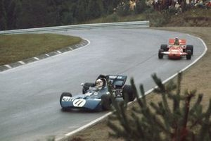 Jackie Stewart, Tyrrell 003 Ford, Ronnie Peterson, March 711 Ford, GP del Canada del 1971
