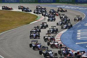 Logan Sargeant, Prema Racing, David Beckman, Trident Motorsport And Lirim Zendeli, Trident