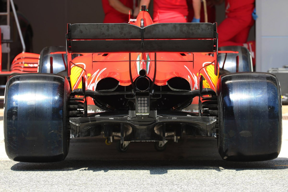 Ferrari SF1000 rear detail