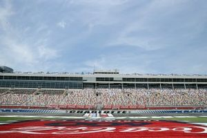 A general view of the grandstands prior to the NASCAR Cup Series Coca-Cola 600