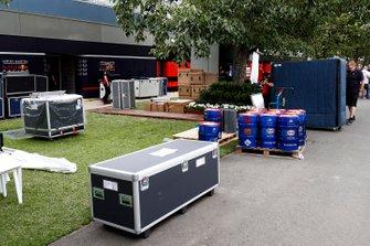 Le rangement du matériel chez Red Bull