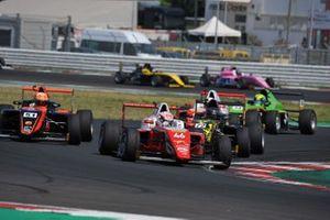 Gabriele Mini, Prema Powerteam, Francesco Pizzi, Van Amersfoort Racing N y Leonardo Fornaroli, Iron Lynx Srl