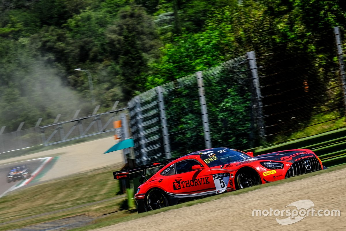 #5 Haupt Racing Team Mercedes-AMG GT3: Hubert Haupt, Sergey Afanasiev, Finlay Hutchison