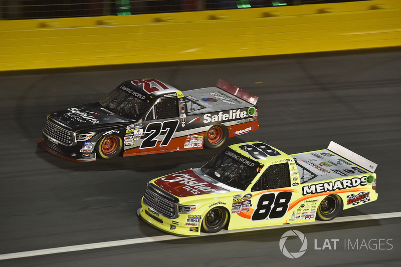 Ben Rhodes, ThorSport Racing Toyota, Matt Crafton, ThorSport Racing Toyota