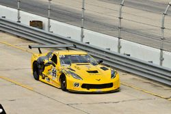 #99 TA Chevrolet Corvette, Lawrence Lepurage
