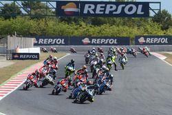 Aksi start CEV Moto3 Barcelona