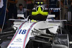 Williams FW40 in de garage