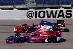 Alexander Rossi, Herta - Andretti Autosport Honda Carlos Munoz, A.J. Foyt Enterprises Chevrolet